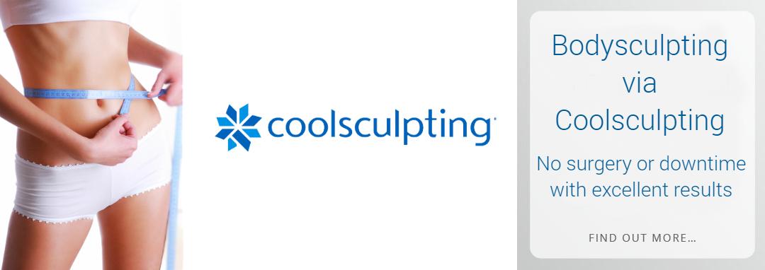 Bodysculpting via Coolsculpting